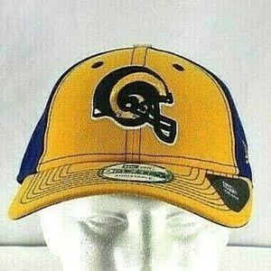 Los Angeles Rams Blue Yellow NFL Baseball Cap Snap